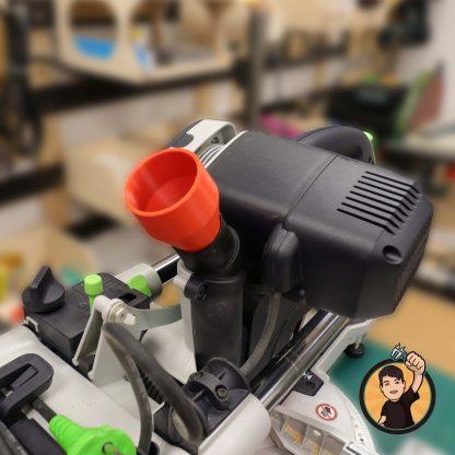 Spiralschlauchadapter Festool KAPEX 50mm