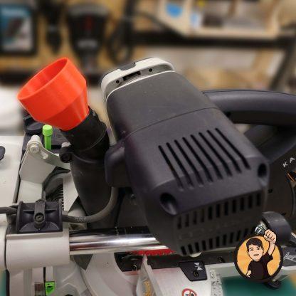 Spiralschlauchadapter Festool KAPEX 60mm